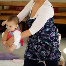 First Baby Yoga Training at Childways